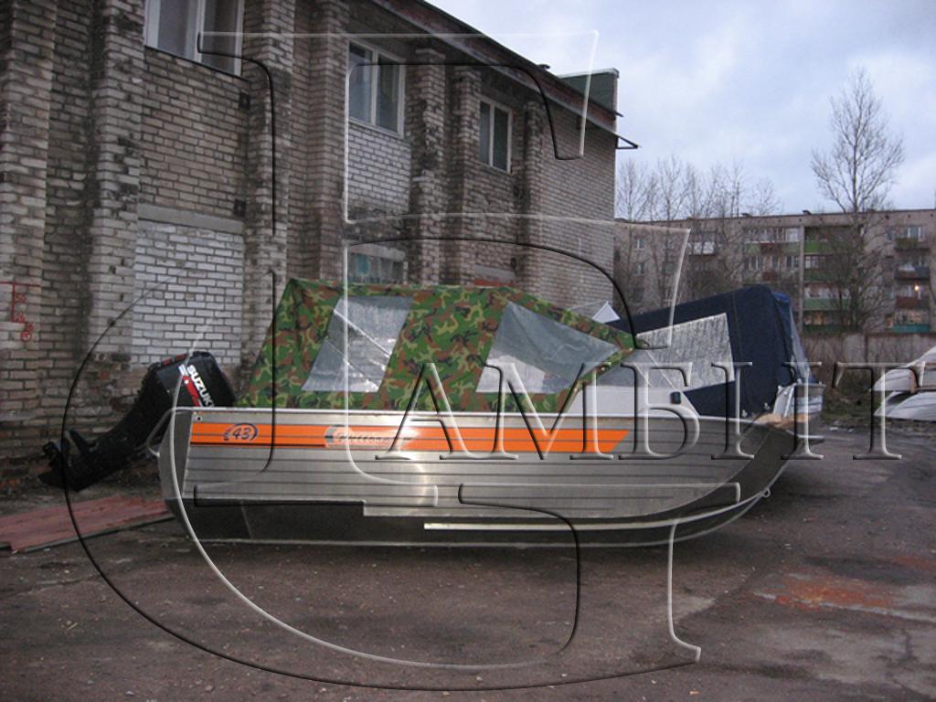 изготовление тентов для лодок в спб