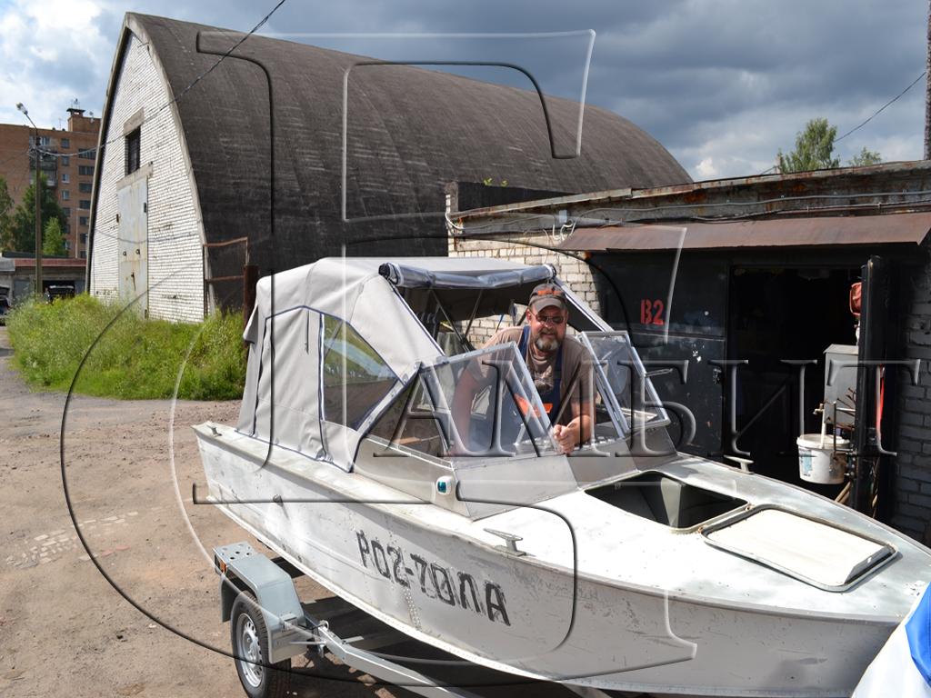 Тент на лодку Прогресс 4
