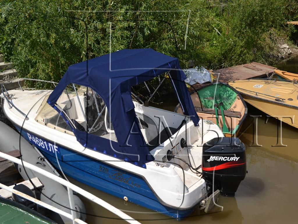 тент на лодку зодиак