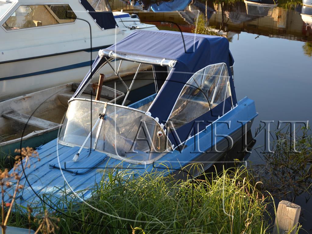тенты для лодки романтика