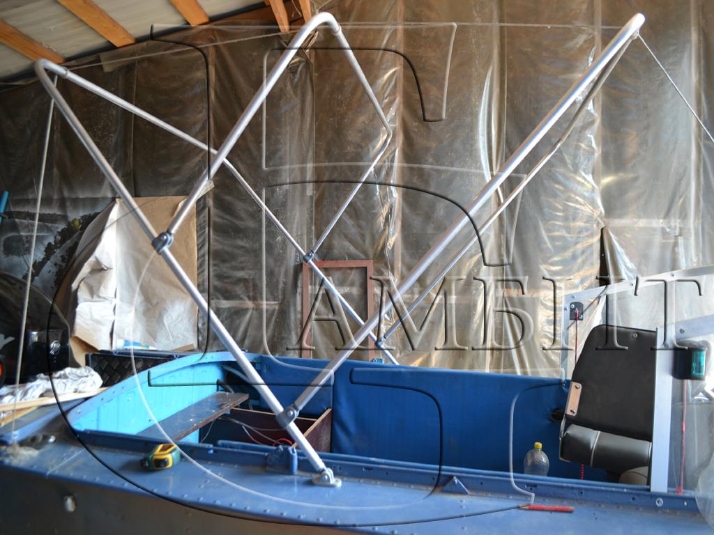 дуги на лодку прогресс 4